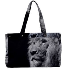 African Lion Canvas Work Bag by goljakoff
