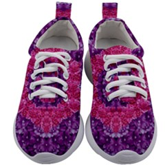 Flowers And Purple Suprise To Love And Enjoy Kids Athletic Shoes by pepitasart
