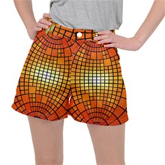 Pattern Background Rings Circle Ripstop Shorts