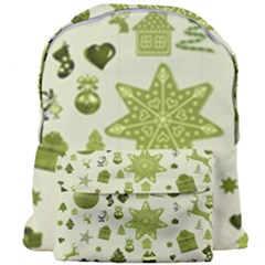 Christmas Symbols Decoration Giant Full Print Backpack