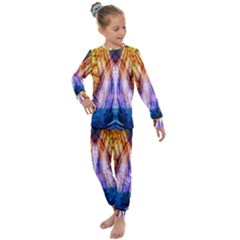 Abstract Pattern Color Colorful Kids  Long Sleeve Set