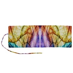 Abstract Pattern Color Colorful Roll Up Canvas Pencil Holder (m) by Wegoenart