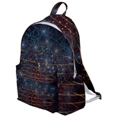 Network Abstract Connection The Plain Backpack