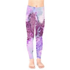 Abstract Texture Background Kids  Leggings by Wegoenart