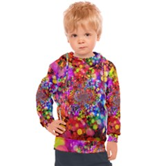Bokeh Color Light Points Pattern Kids  Hooded Pullover