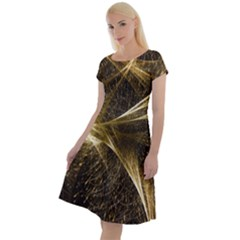 Quantum Physics Wave Particles Classic Short Sleeve Dress