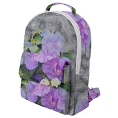 Impression Floral 01c Flap Pocket Backpack (small) by MoreColorsinLife