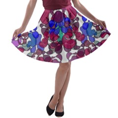 Netzauge Beautiful A Line Skater Skirt