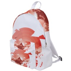 Red Sunset The Plain Backpack