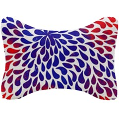 Abstract Paint Drops Seat Head Rest Cushion
