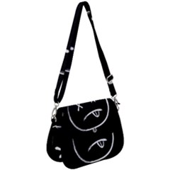 Dead Eyes Saddle Handbag by goljakoff