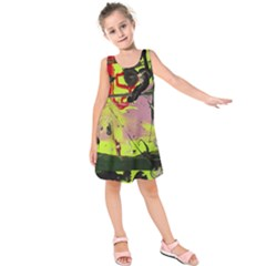 Deep Soul 1 2 Kids  Sleeveless Dress by bestdesignintheworld