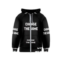 Change The Game Kids  Zipper Hoodie by goljakoff