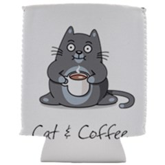 Cat And Coffee Can Holder