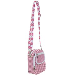 Donuts Rose Shoulder Strap Belt Bag