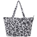 Winter forest camo pattern Full Print Shoulder Bag View1
