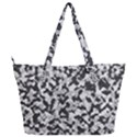 Winter forest camo pattern Full Print Shoulder Bag View2