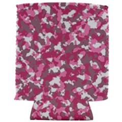 Pink Camo Pattern Can Holder