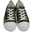 Forest camo pattern Women s Low Top Canvas Sneakers View1