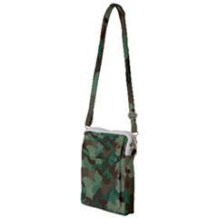 Forest Camo Pattern Multi Function Travel Bag