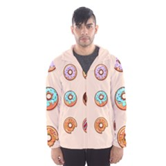 Donuts Men s Hooded Windbreaker