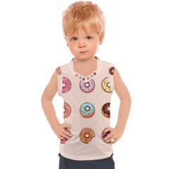 Donuts Kids  Mesh Tank Top