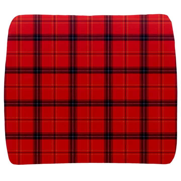 Red buffalo plaid Back Support Cushion