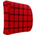 Red buffalo plaid Back Support Cushion View2