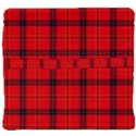 Red buffalo plaid Back Support Cushion View4