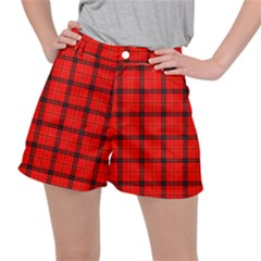 Red Buffalo Plaid Ripstop Shorts