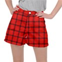 Red buffalo plaid Ripstop Shorts View1