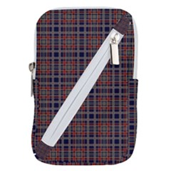 Vintage Buffalo Plaid Belt Pouch Bag (large) by goljakoff