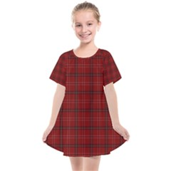 Red Buffalo Plaid Kids  Smock Dress by goljakoff
