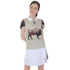 American Bison Women s Polo Tee