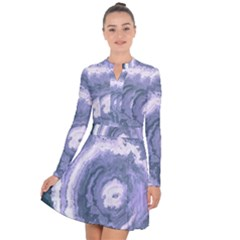 Agate Slice Long Sleeve Panel Dress by goljakoff