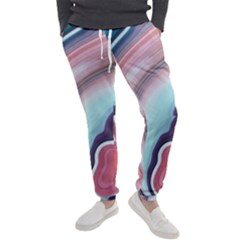 Agate Slice Men s Jogger Sweatpants by goljakoff