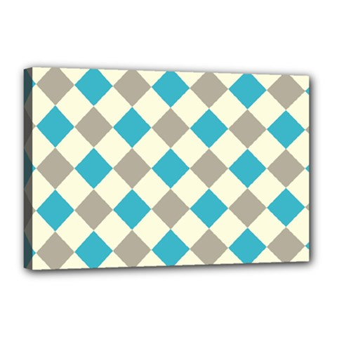 Background Graphic Wallpaper Stylized Colorful Fun Geometric Design Decor Canvas 18  X 12  (stretched)