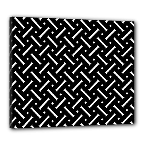 Geometric Pattern Design Repeating Eamless Shapes Canvas 24  X 20  (stretched)