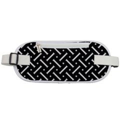 Geometric Pattern Design Repeating Eamless Shapes Rounded Waist Pouch