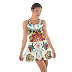 Baatik Print  Cotton Racerback Dress by designsbymallika