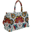 Baatik Print  Duffel Travel Bag View2