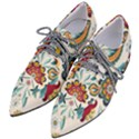 Baatik Print  Women s Pointed Oxford Shoes View2