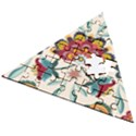 Baatik Print  Wooden Puzzle Triangle View2