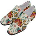 Baatik Print  Women Slip On Heel Loafers View2