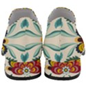 Baatik Print  Women Slip On Heel Loafers View4