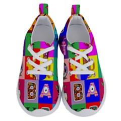 Alphabet Pattern Running Shoes by designsbymallika