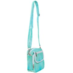 Blue Green Shades Shoulder Strap Belt Bag
