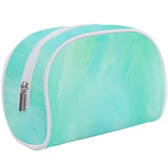 Blue Green Shades Makeup Case (large)