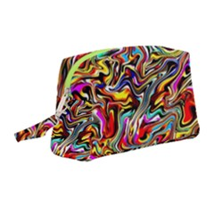 Ab 101 Wristlet Pouch Bag (medium) by ArtworkByPatrick