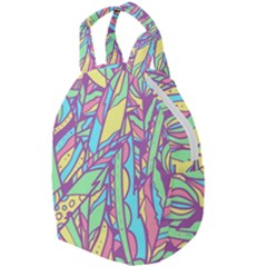 Feathers Pattern Travel Backpacks by Sobalvarro